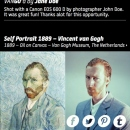 Vincent van Gogh VANGO'd by John Doe