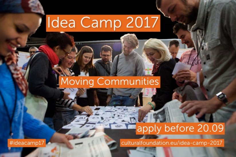 IdeaCamp17 call is open! Moving Communities!